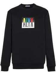 Alyx Logo Crew Neck Sweatshirt Black