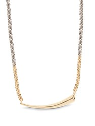 Charlotte Chesnais Alki Silver And Gold Plated Necklace