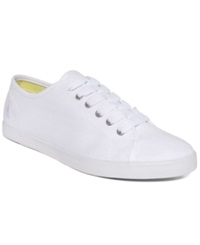 Nautica Lanyard Canvas Sneakers Women's Shoes White