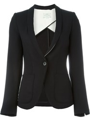 Forte Forte Single Button Blazer Black