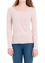 Leon Max Striped Linen Long Sleeved Tee