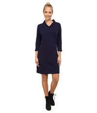 Exofficio Fionna 3 4 Sleeve Dress Evening Women's Dress Blue