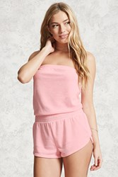 Forever 21 Terry Cloth Cover Up Romper