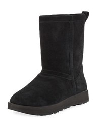 Ugg Classic Water Resistant Short Boot Black