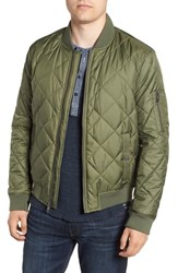 Marc New York By Andrew Fletcher Quilted Bomber Jacket Olive