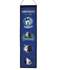 Winning Streak Minnesota Timberwolves Heritage Banner Team Color