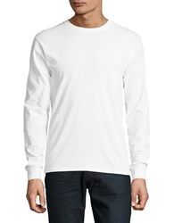Champion Long Sleeve Crewneck Top White