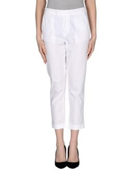 Manila Grace Casual Pants White