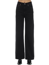 Levi's Rib Cage High Rise Wide Leg Jeans Black