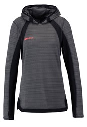 Roxy Jumpin'up Long Sleeved Top Charcoal Heather Dark Grey