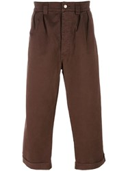 Societe Anonyme 'Paul' Trousers Brown