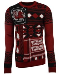 Forever Collectibles Men's South Carolina Gamecocks Patches Christmas Sweater
