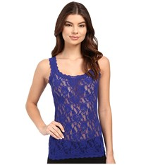 Hanky Panky Signature Lace Unlined Cami Midnight Blue Women's Lingerie