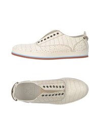 Fabi Footwear Low Tops And Trainers Men Ivory