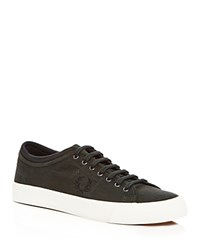 Fred Perry Kendrick Tipped Cuff Lace Up Sneakers Green
