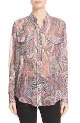 The Kooples Women's Paisley Print Blouse