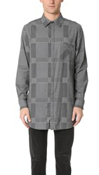 Cheap Monday Hid Check Shirt Grey
