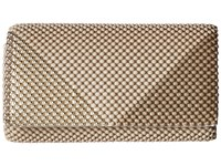 Jessica Mcclintock Cassie Multi Mesh Clutch Taupe Gold Clutch Handbags