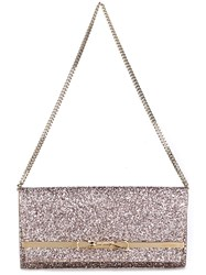 Jimmy Choo Lydia Clutch Pink Purple