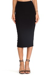 Michael Stars Esa Convertible Pencil Skirt Black