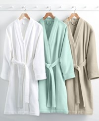 Hotel Collection Waffle Weave Robe 100 Turkish Cotton Created For Macy's Bedding Seamist
