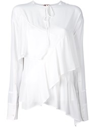 N 21 No21 Layered Blouse White