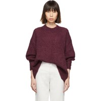 Isabel Marant Burgundy Idol Sweater