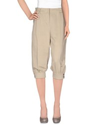Betty Blue Trousers 3 4 Length Trousers Women Grey