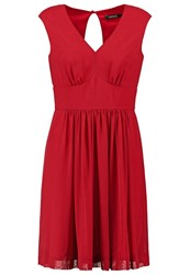Swing Cocktail Dress Party Dress Rot Red