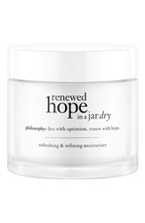 Philosophy 'Renewed Hope In A Jar Dry' Refreshing And Refining Moisturizer No Color