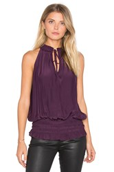 Ramy Brook Eliza Tank Purple