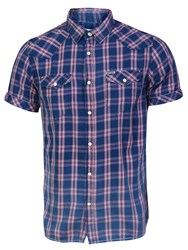 Garcia Men Check Shirt Multi Coloured