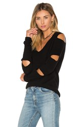 360Cashmere Tyrone Cut Out Sweater Black