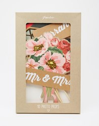 Paperchase Wedding Photo Booth Props Multi