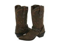 Durango Crush Cowgirl Boot Saddle Brown W Tan And Brown Cowboy Boots
