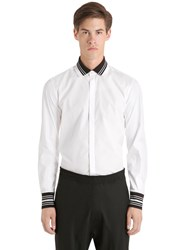 Neil Barrett Stretch Cotton Poplin Shirt