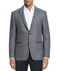 John Varvatos Star Usa Luxe Textured Slim Fit Sport Coat 100 Bloomingdale's Exclusive Black White