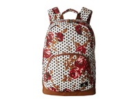 Volcom Schoolyard Poly Backpack Blood Red Backpack Bags