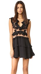 For Love And Lemons Laney Lou Dress Black
