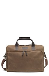 Men's Trask 'Bridger Trail' Waxed Canvas Tote