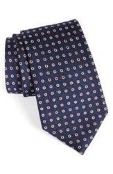 Nordstrom Men's Men's Shop Halo Dot Silk Tie Navy