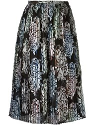 Marco De Vincenzo Embroidered Midi Skirt Multicolour