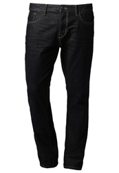 Tom Tailor Josh Straight Leg Jeans Rinsed Blue Denim