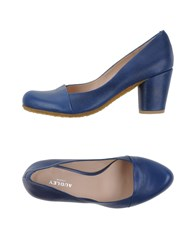 Audley Footwear Courts Women Bright Blue