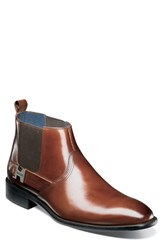 Stacy Adams Joffrey Chelsea Boot Cognac Leather