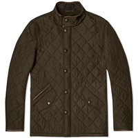 Barbour Powell Quilt Jacket Olive