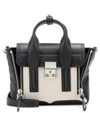 3.1 Phillip Lim Pashli Mini Leather Shoulder Bag Black