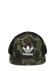 Adidas Camo Cotton Ripstop Trucker Hat