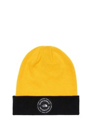 The North Face 7 Se Cotton Blend Beanie Yellow