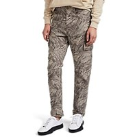 J Brand Pixelated Camouflage Cotton Cargo Pants Grn. Pat.